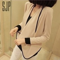Women's Long Sleeve shoulder pad All-Match Loose Short Jacket coat ladies coat Free shipping