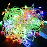 Hot Sale 100 LED 10M LED String Light led Christmas/Wedding/Party Decoration Lights AC 110V 220V , Waterproof Multi color
