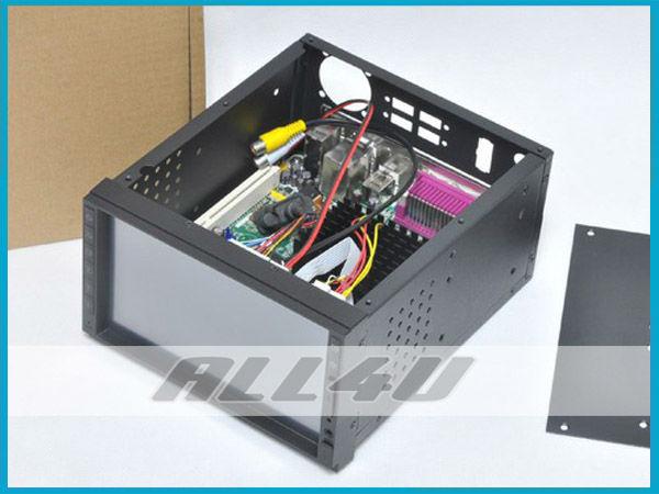 "Hot selling! 2 DIN IN DASH Car monitor 7"" Samsung HDMI Touch Screen Monitor Mini ITX USB SD Raspberry Pi (HDMI Version) +Usb Hid(China (Mainland))"
