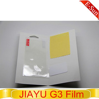 Original JIAYU G3 High grade anti-fingerprint film for jiayu G3 android mobile Free shipping