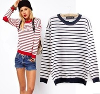 Free shipping 2013 autumn women's heart long-sleeve cotton sweater female Women sweater