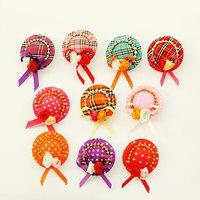 dreambows Handmade Pet Dog Grooming Cute Alligator Clip Little Hat Headwear 10pcs Mix Colors 5pairs