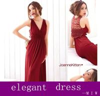 women V-neck temperament hollow out back dress sexy party dress length maxi long dress casual cute novelty dress vestidos