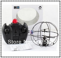 Free Shipping New Arriival ! 2 Channel With Gyro RC Remote Radio Control Frlying Fly Ball Helicopter UFO Radio Quad copter Drone