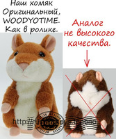 Hight quality  Available! With Original Box,hamster,Talking hamster Russian speaking toys repeat language word , Best Gift