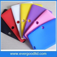 Free Shipping Soft Silicone Protective Back Cover Case For 7 Inch Q88 Android Tablet PC