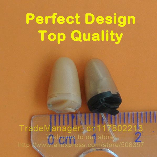 Original Full skin color electronic earpiece, micro invisible earphone, fbi micspy covert headset ME05