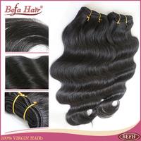 Grade 6A unprocess body wave virgin malaysian hair 5pcs lot free shipping human hair wavy free shedding befa hair product