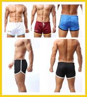 BIG SALE ! Cockcon Gym Shorts Men Board Shorts Sports Gauze Mesh Elastic Compression Shorts Cuecas M L XL XXL