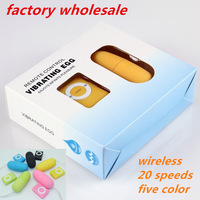 50sets/lot 20 Speeds Vibration Wireless sex Eggs,Remote Control Vibrating Egg, Sex Vibrator,Adult Sex Toys For Woman Wholesale