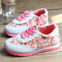 Promotion!! Fashion autumn children PU leather sport casual shoes kids princess girls single shoes sneaker