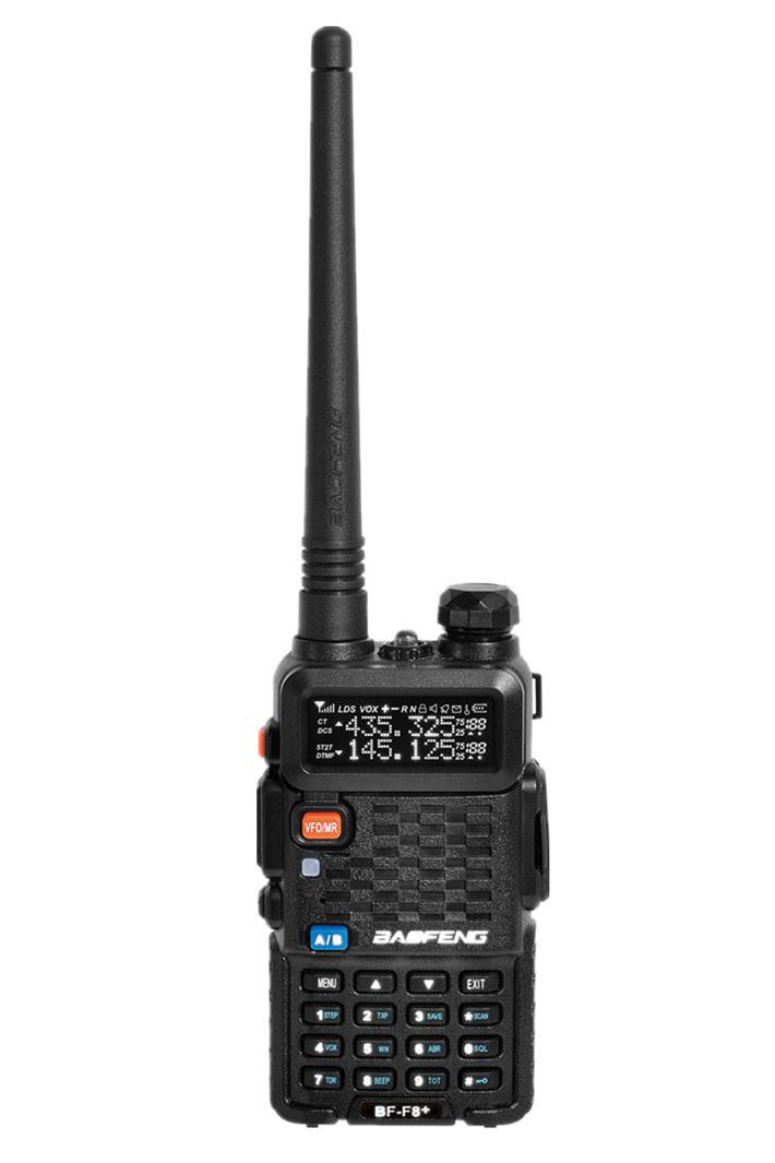 Original BaoFeng BF-F8+ Professional Transceiver Dual Band FM Ham Two Way Radio Walkie Talkie Transmitter cb Radio Station
