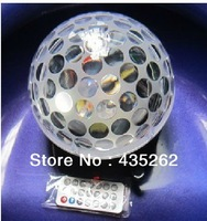 5pcs/ new  LED Crystal Magic Ball Effect Ligh  LED Crystal Magic Ball Effect Light DMX512 control panel & voice control