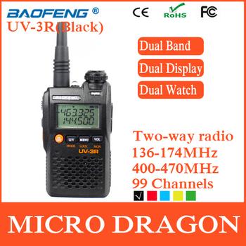 New BaoFeng UV-3R Professional Dual Band Transceiver FM Ham Two Way Radio Walkie Talkie Transmitter cb Radio Station