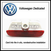 volkswagen passatwelcome light laser projection lamp dedicated wireless receiving light from in situ modification special wiring