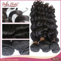 3pcs lot Grade 6A befa hair product deep wave malaysian virgin hair free shipping human hair extension free shedding