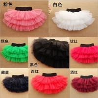 Autumn Summer 2014 Children Girls Skirt Colorful Pettiskirt Baby Tutu Skirt Saia 15 Colors For Choose