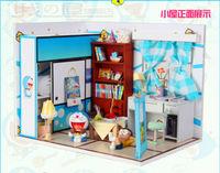 Model Villa Free Shipping DIY Manual Creative Couple Gifts/Doll House