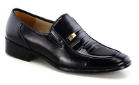New 2014 fashion men casual shoes genuine leather men's business flats X004