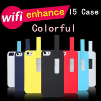 supernova sale wireless signal enhancer for iphone5 increase 50% WIFI signal case phone bag protective sleeve shell phone shell