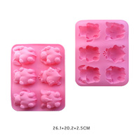 "New Style, cute ""animal love"" shape silicone cake mold, Kitchen Tools"