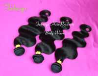 Freeshipping Cheap Peruvian Virgin Hair Extension Body Wave 3pcs Lot Unprocessed Peruvian Hair  Human Hair Weave Weft Body Wave