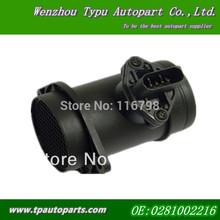 A4 A6 VW Passat Seat 1.9TDI 0281002216 Mass Air Flow Meter Sensor MAF 0986284001 0281002768 0986284001 0986284011(China (Mainland))