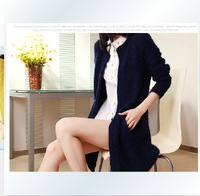 G & Star Fashion 2014 New Female Long Sleeve Loose Sweater Cardigan Knitwear Women's Fashion Wool Knitted Outerwear