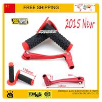 Gear Lever Shifter Changer + Protaper grip PRO 50cc-250cc PIT Dirt Bike Quad ATV DHZ ATOMIK CRF50 KLX TTR free shipping