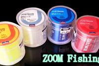 Hot sale!!Fly /carp nylon fishing line 500M EXTREME SUPER  STRONG NYLON FISHING LINE  BLUE  ALL SIZE 2pcs/lot