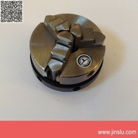 free shipping Three jaw chuck K01-65 slim hand chuck  pocket type chuck