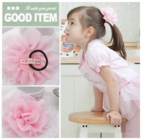 10 pieces/lot New Cute Children/Baby Girl/Princess Camell Flower Hair Band/Hair ties/wholesale/accessories