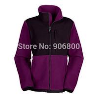 Wholesale Women denali fleece jackets coat, ladies outdoor wind warm winter ski sportswear jacket  hoodie