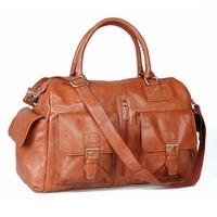 Fashion Genuine Leather Large Travel Duffle Bag For Women Sports Duffle GYM Bag Shoulder Messenger Motorcycle Bag Handbag