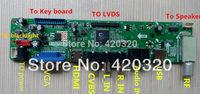2014 new VST29 V59 chip HDTV driver board TV+PC+AV+HDMI+USB for 8.9-42 inch PAL model LCD driver board