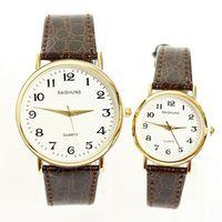 Quartz Watch Genuine Leather Business Roman Numerals Simple Popular Fashion For Lovers Men Women Unisex  Dropship