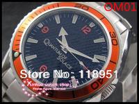 2014The new business luxury Swiss watch automatic mechanical men's watches waterproof sapphire calendar