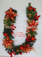 Christmas supplies christmas wall decoration cane high quality free hipment