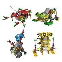 Loz Electric Robot 4pcs/lot Building Blocks Sets Motor Plastic Robot Educational DIY Bricks Toys Children Christmas Gift