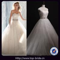 S40201 Designer Romantic Backless Lace Wedding Dresses 2013