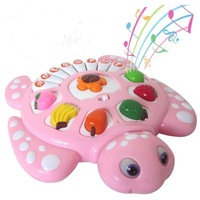 2013 Animal Music Piano Baby Toy Piano Turtle Electronic Piano Toy  Children's Early Education Tool  Retail and Wholesale