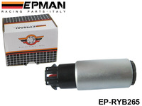 EPMAN High Performance Ethanol Compatible Electric Fuel Pump DW265 265LPH For Racing Cars EP-RYB265