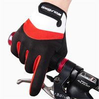 WOLFBIKE Winter Outdoor Full finger Gloves Cycling Road Mountain Bike Bicycle MTB DH Downhill Off Road Glove Mittens  luvas