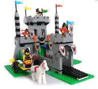 nlighten Building Blocks Royal Castle Construction Sets Educational DIY Bricks Hot Toy for Children Compatible Blocks Gift