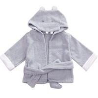 Baby Toddler Girl Boy Animal Cartoon Pattern Bathrobe Towel 0-2 Years Old 18394 SV16