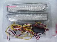 66LEDs car LED white + red brake light case for TOYATO RAV4 PREVIA TARAGO ESTIMA IPSUM NADIA SPRINTER CARIB SCION XD WISH etc.