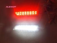 15 white LEDs+ 18 red LEDs /pc Car LED brake light case for TOYOTA RAV4  PREVIA ALPHARD / VELLFIRE ESTIMA GAIA IPSUM NADIA etc.