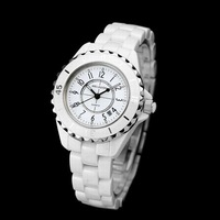 Women Ceramic Watch Korean wave white retro table diamond watches Ladies' watches Korean fashion watches