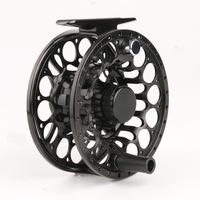 Free shipping Popular LD 5wt and 6wt Fly fishing reel CNC Machine cut Large arbor  Aluminum Fly reel