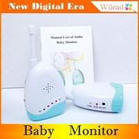 Audio baby monitor Temperature bed-wetting vibration alarm wireless and portable Eleader AA0019